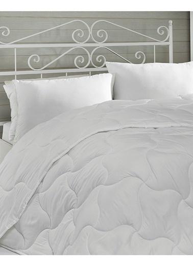 Komfort Home Çift Kişilik Microfiber Yorgan 195x215 CM Beyaz